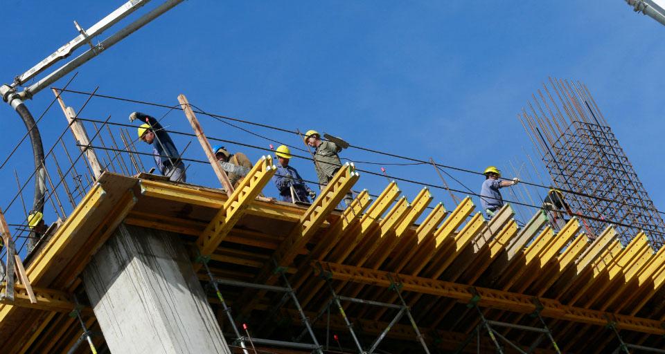 Produção da construção poderá crescer 2,6% em 2017