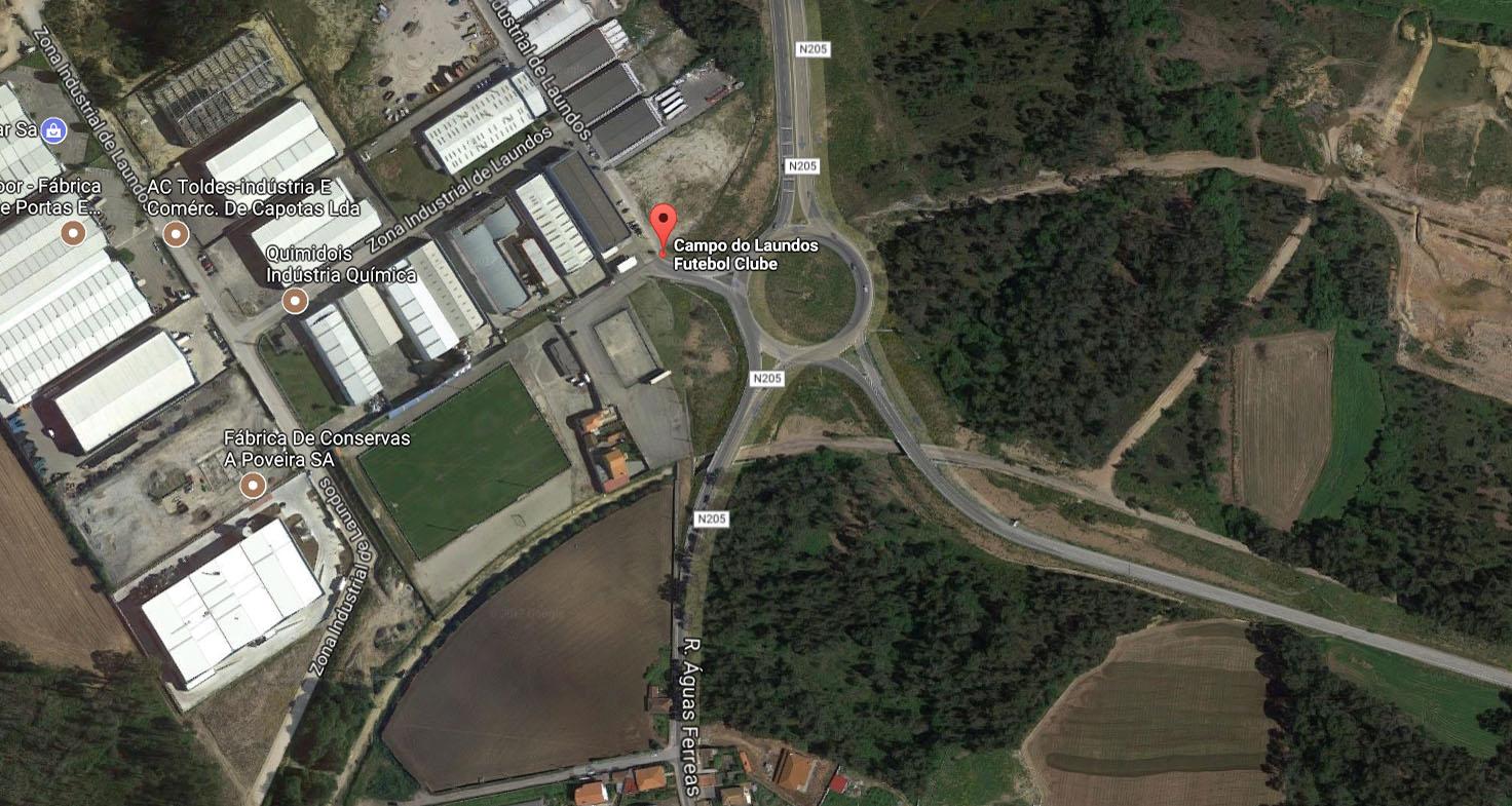 Adjudicação da Remodelação do Parque Desportivo de Laúndos